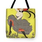 Le Frou Frou Vintage Poster By Leonetto Cappiello, 1899 Tote Bag