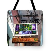 Le Jardin Fine Art Tote Bag