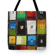 Le Language Des Couleurs Tote Bag