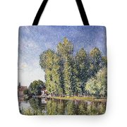 Le Loing A Moret Tote Bag