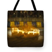 Le Mans On Fire Tote Bag