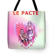 Le Pacte Front Cover Tote Bag