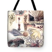 Le Petite Pig Does Fly Tote Bag
