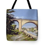 Le Pont Canal A Briare Tote Bag