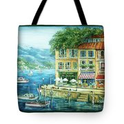 Le Port Tote Bag by Marilyn Dunlap