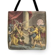 Le Roi, Le Milan, Et Le Chasseur (the King, The Kite, And The Hunter) Tote Bag