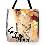 Le Sillon - The Path - Vintage Art Nouveau Poster Tote Bag