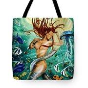 Lea The Mermaid Tote Bag