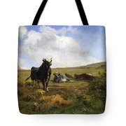 Leader Of The Herd Tote Bag