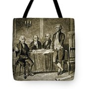 Leaders Of The First Continental Congress Tote Bag