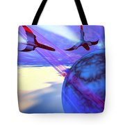 Leading Edge Tote Bag by Corey Ford