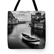 Leading Light At Staithes Tote Bag