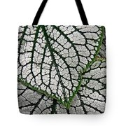 Leaf Abstract 19 Tote Bag