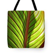 Leaf Abstract  23 Tote Bag
