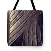 Leaf Abstract  24  Sepia   Tote Bag