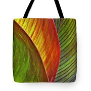 Leaf Abstract 3 Tote Bag