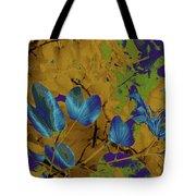 Leaf And Flower 10 Tote Bag