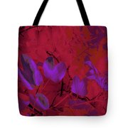 Leaf And Flower 9 Tote Bag