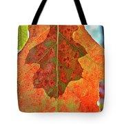 Leaf Behind Tote Bag