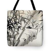 Leaf C Tote Bag by Rang Tian