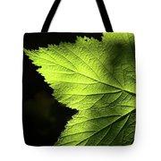 Greenvein  Tote Bag