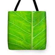 Leaf Detail Tote Bag