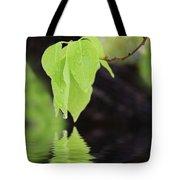 Leaf Drop Tote Bag