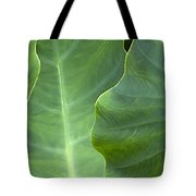 Leaf Edges Tote Bag