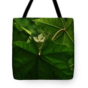 Leaf In The Middle Tote Bag