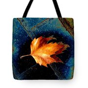 Leaf On Bricks 5 Tote Bag