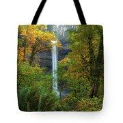 Leaf Peeping And Waterfall Tote Bag