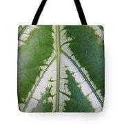 Leaf Variegated 2 Tote Bag