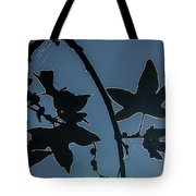 Leafs Backlit Tote Bag