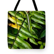Leafy Lizard Tote Bag