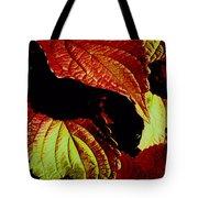 Leafy Melange Tote Bag