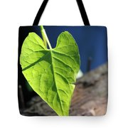 Leafy Veins Tote Bag