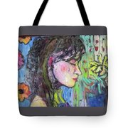 Leahannah Up Close Tote Bag