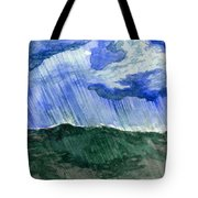 Leaking Sky Tote Bag