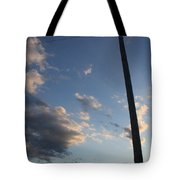 Lean To The Left Tote Bag
