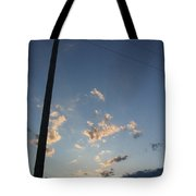 Lean To The Right Tote Bag
