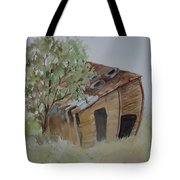Leaning Esclante Shed Tote Bag