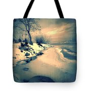 Leaning Tote Bag