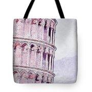 Leaning Tower Of Pisa - 03 Tote Bag