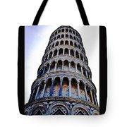 Leaning Tower Of Pisa In Tuscany, Italy Tote Bag