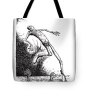 Leap Tote Bag by Tobey Anderson
