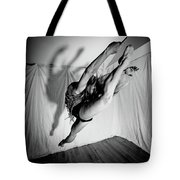 Leaping In Studio Tote Bag