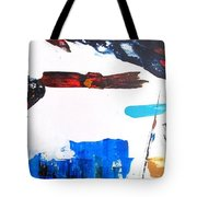 Leaping Lizzard Tote Bag