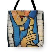 Learn To Work The Saxophone Tote Bag