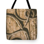 Learning The Ropes Tote Bag