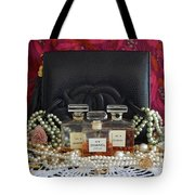Leather And Lace 2 Tote Bag